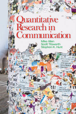 Quantitative Research in Communication by Mike Allen image