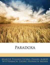 Paradoxa by Daniel Albert Wyttenbach