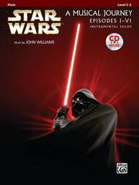 Star Wars Instrumental Solos (Movies I-VI): Flute, Book & CD by Alfred Publishing