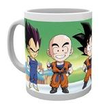 Dragonball Z: Chibi Fighters Ceramic Mug