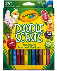 Crayola: Doodle Scents Markers (25-Pack)