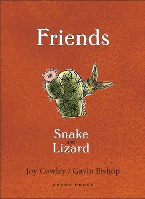Friends: Snake and Lizard image
