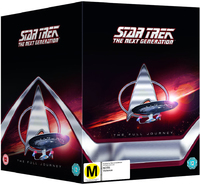 Star Trek The Next Generation The Full Journey on DVD