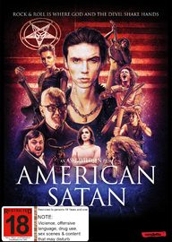 American Satan on DVD image