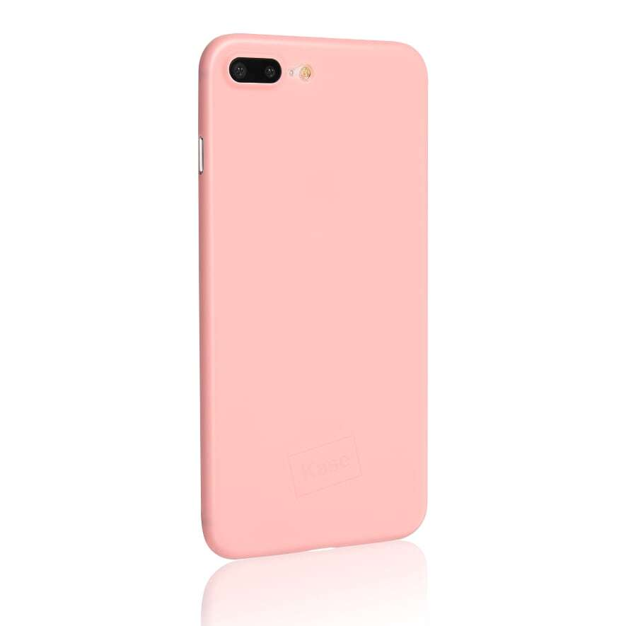 Kase Go Original iPhone 8 Plus Slim Case- Pretty in Pink image