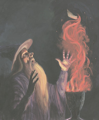 Harry Potter and the Goblet of Fire Illustrated Edition by J.K. Rowling image