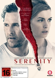 Serenity on DVD image
