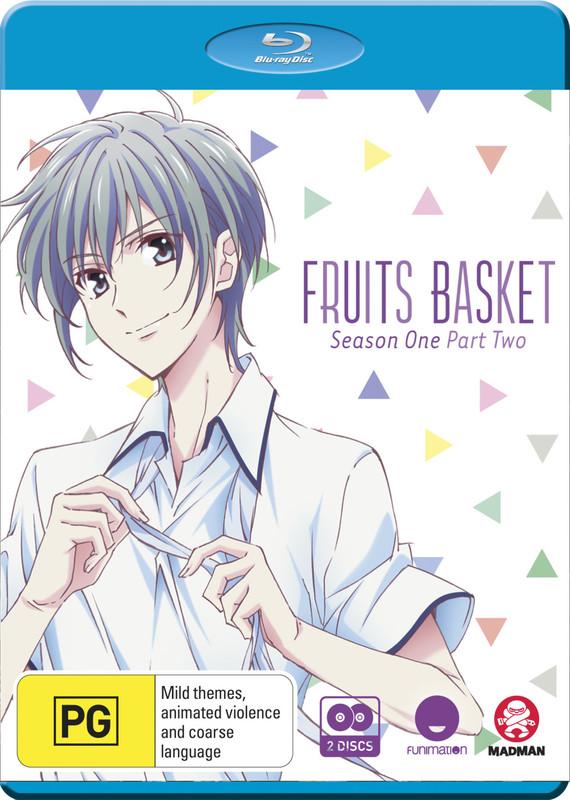 Fruits Basket - Season 1: Part 2 (Eps 14-25) on Blu-ray