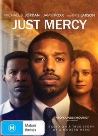 Just Mercy on DVD