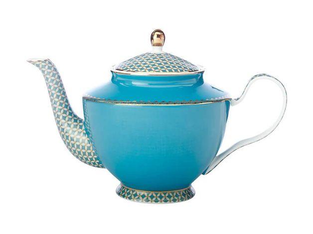 Maxwell & Williams Teas & C's: Classic Teapot with Infuser - Aqua