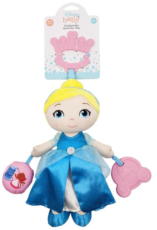 Disney Baby: Princess Activity Plush - Cinderella
