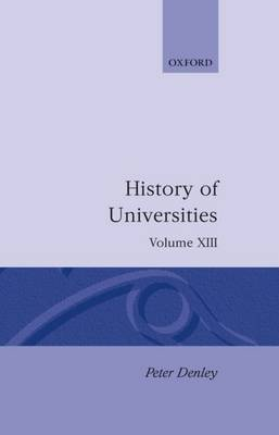 History of Universities: Volume XIII: 1994 image
