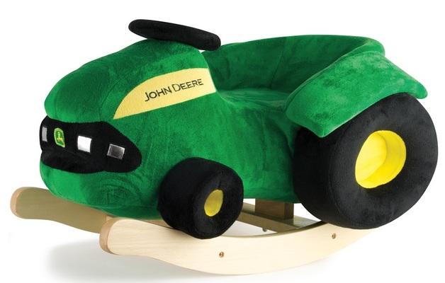 John Deere: Plush Rocking Tractor Ride-On