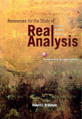 Resources for the Study of Real Analysis by Robert L. Brabenec image