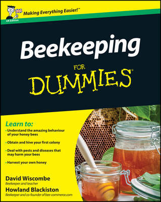 Beekeeping For Dummies by David Wiscombe image