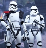 "Star Wars: The Force Awakens - 12"" First Order Officer & Stormtrooper Figure Set"