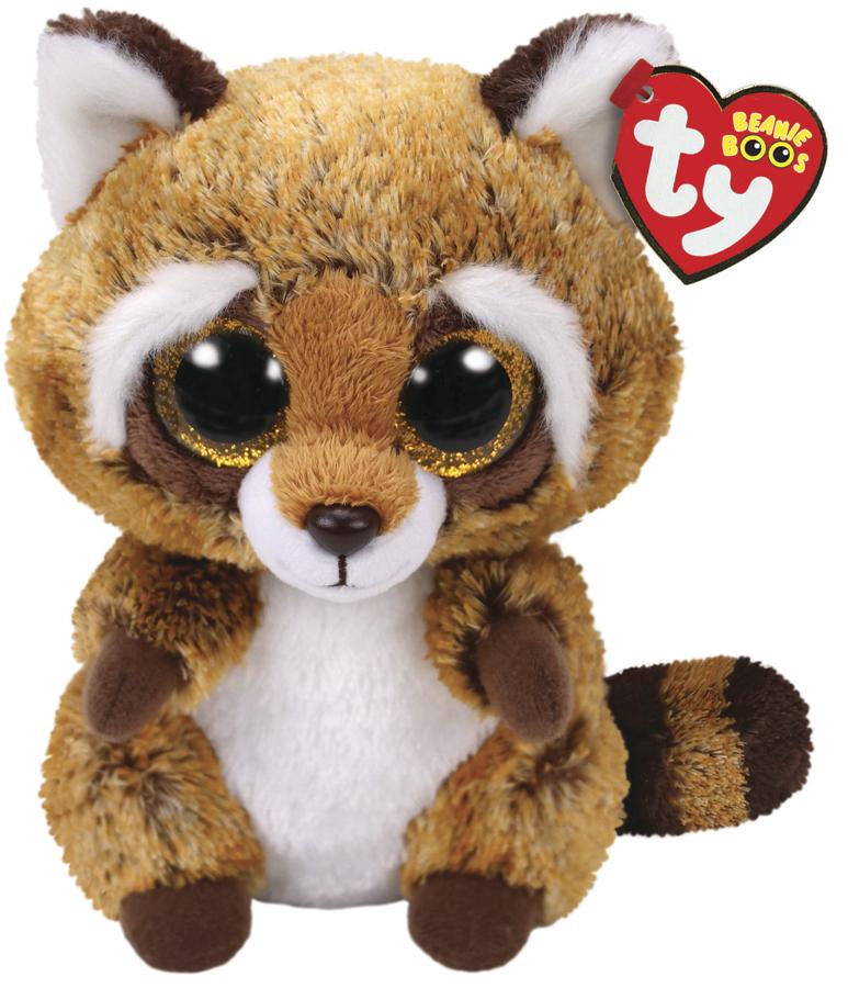 3238576c01f Ty Beanie Boo  Rusty Raccoon - Small Plush image