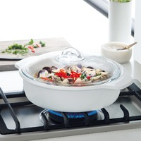 Maxwell & Williams Vitromax Round Casserole Dish (2L)