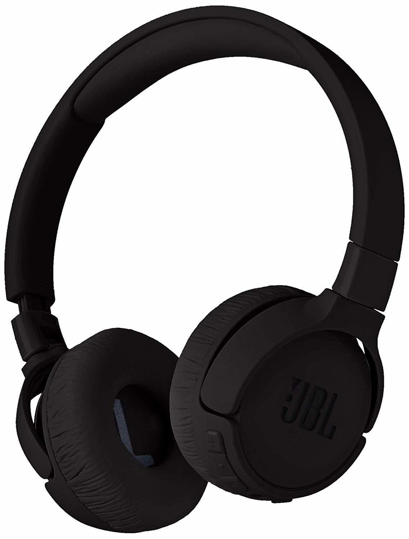 JBL T600 Noise-Cancelling Bluetooth Headphones - Black image