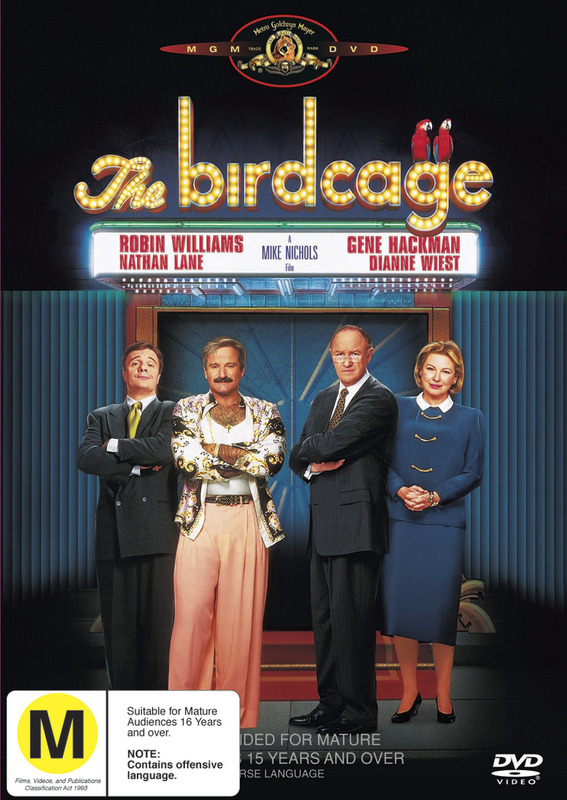 The Birdcage on DVD