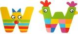 Tatiri Alphabet Letter Crazy Animal - W
