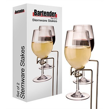 Picnic Stemware Stakes (Set of 2)