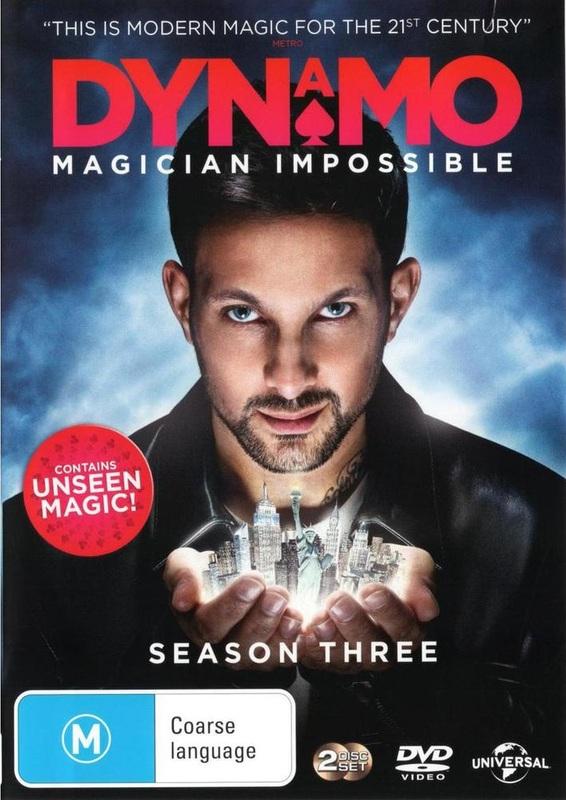 Dynamo: Magician Impossible - Season Three on DVD