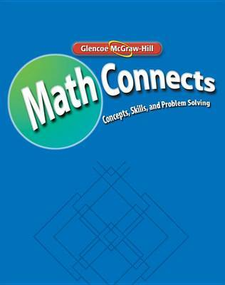 Math Connects: Concepts, Skills, and Problem Solving, Course 2, Math Skills Maintenance Workbook by McGraw-Hill Education image