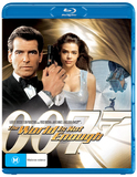 Bond: World Is Not Enough on Blu-ray