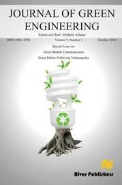 Journal of Green Engineering Volume 5, No. 1; Special Issue