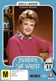 Murder, She Wrote: Season 11 on DVD