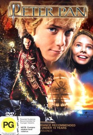 Peter Pan (2003) on DVD image