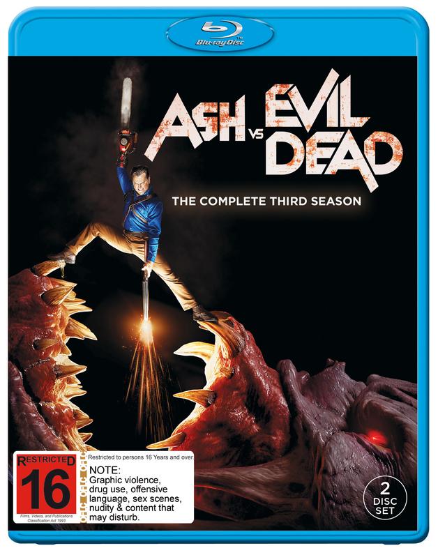 Ash V Evil Dead: Season 3 on Blu-ray