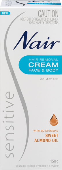 Nair: Sensitive Hair Removal Cream (150ml)