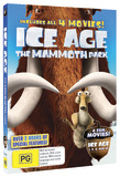 Ice Age Mammoth Collection DVD
