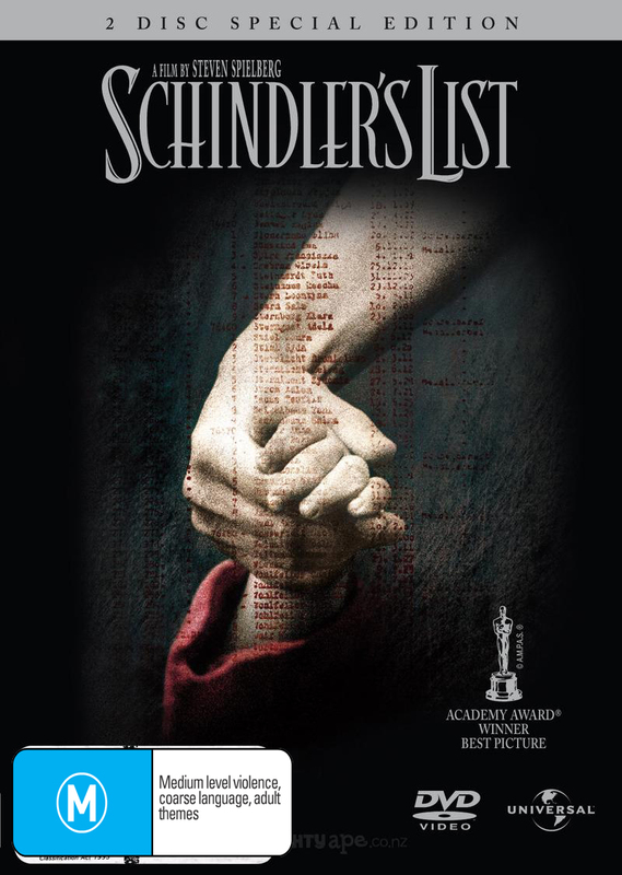 Schindler's List - Special Edition (DTS - 2 Disc Set) on DVD