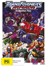 Transformers Armada - Collection Two on DVD
