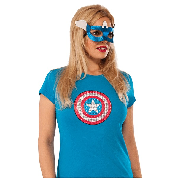 Marvel Captain America Eyemask