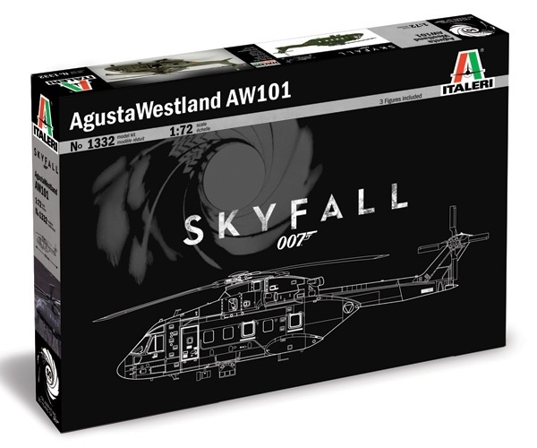 Italeri: 1:72 August Westland AW101 (Skyfall) - Model Kit