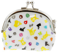 Pokemon: Round Clasp Coin Purse Silhouette