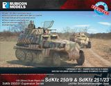 Rubicon 1/56 250/251 Expansion - SdKfz 250/9 & 251/23 Autocannon (Expansion Kit)