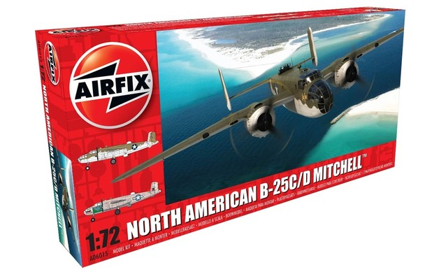 Airfix North American B-25C/D Mitchell 1:72 Model Kit