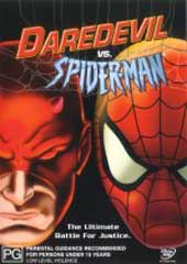 Spider-Man - Daredevil vs. Spider-Man on DVD