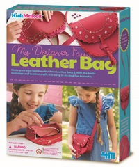 4M KidzMaker: My Designer - Faux Leather Bag