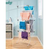 InterDesign Brezio Laundry 3 Tier Drying Rack