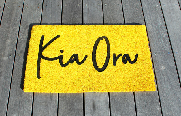 Moana Road: Doormat - Kia Ora