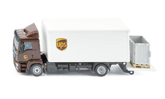 Siku: MAN UPS Truck - Diecast Vehicle