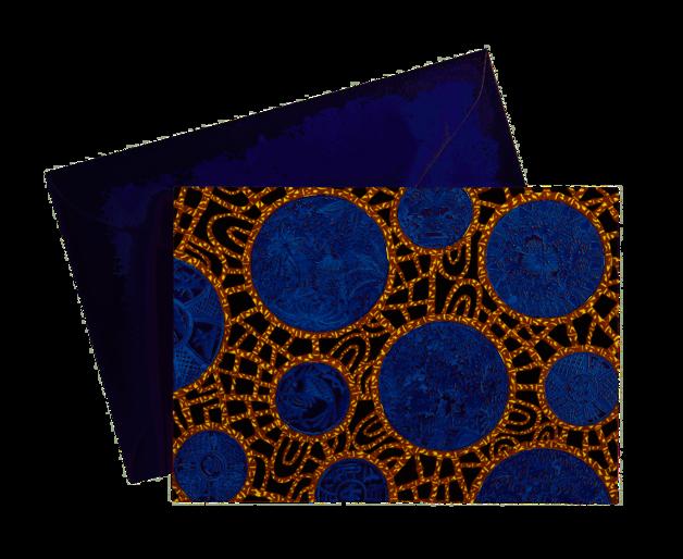 Maxwell & Williams: Greg Irvine Greeting Card - Batik Toile