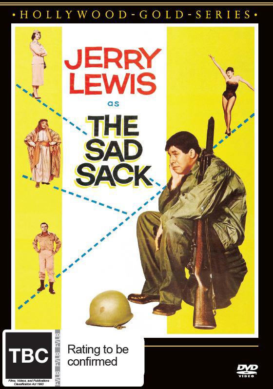 The Sad Sack on DVD