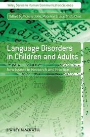 Language Disorders in Children and Adults image